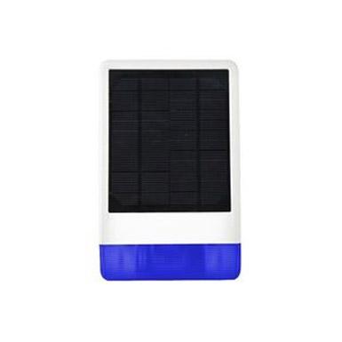 Sirena Exterior con Panel Solar