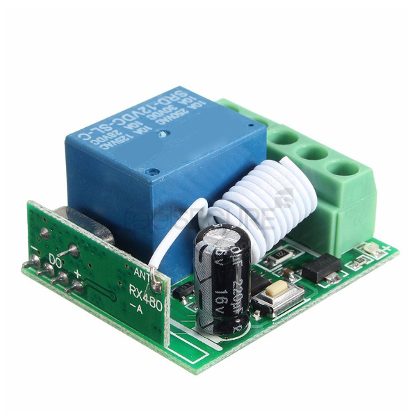 RELAY 12V 433 MHZ 1 CANAL