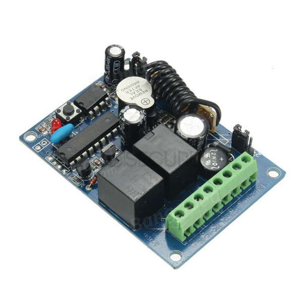 RELAY 12V 433 MHZ 2 CANALES