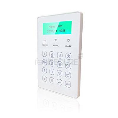 Teclado touch para alarmas