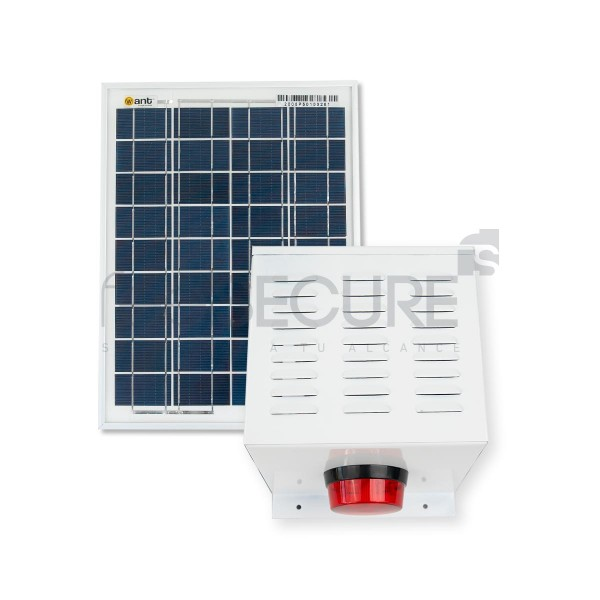 Alarma 20w + Panel Solar